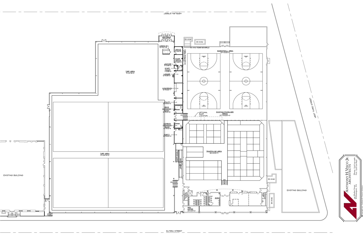 Liberty Arena Blueprints
