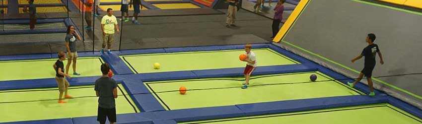 Trampoline Dodgeball Leagues at The Liberty Arena