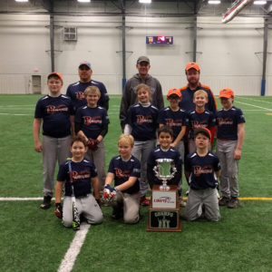 10U Baseball Champions of Winter 1