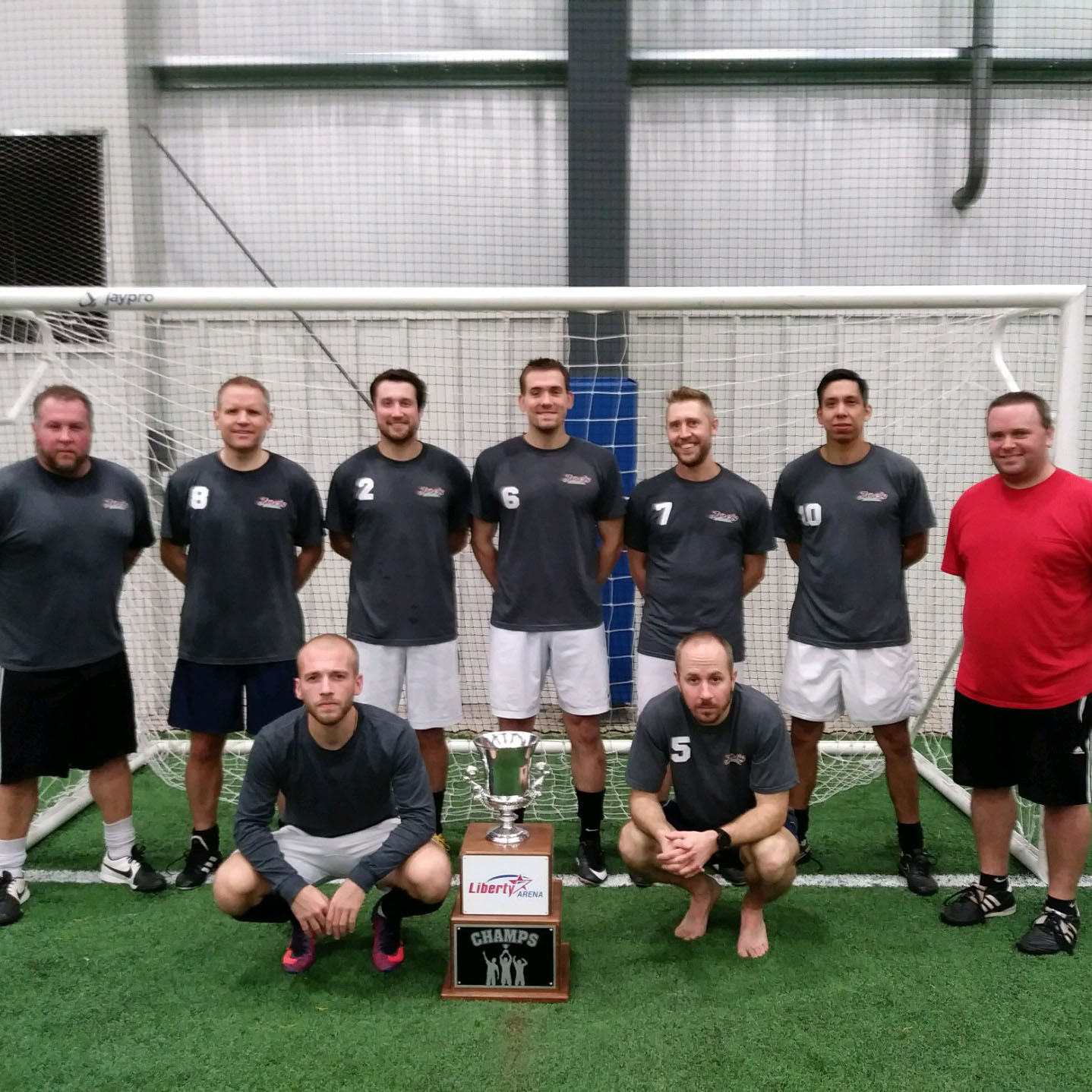 Adult Soccer Champs of Winter 1