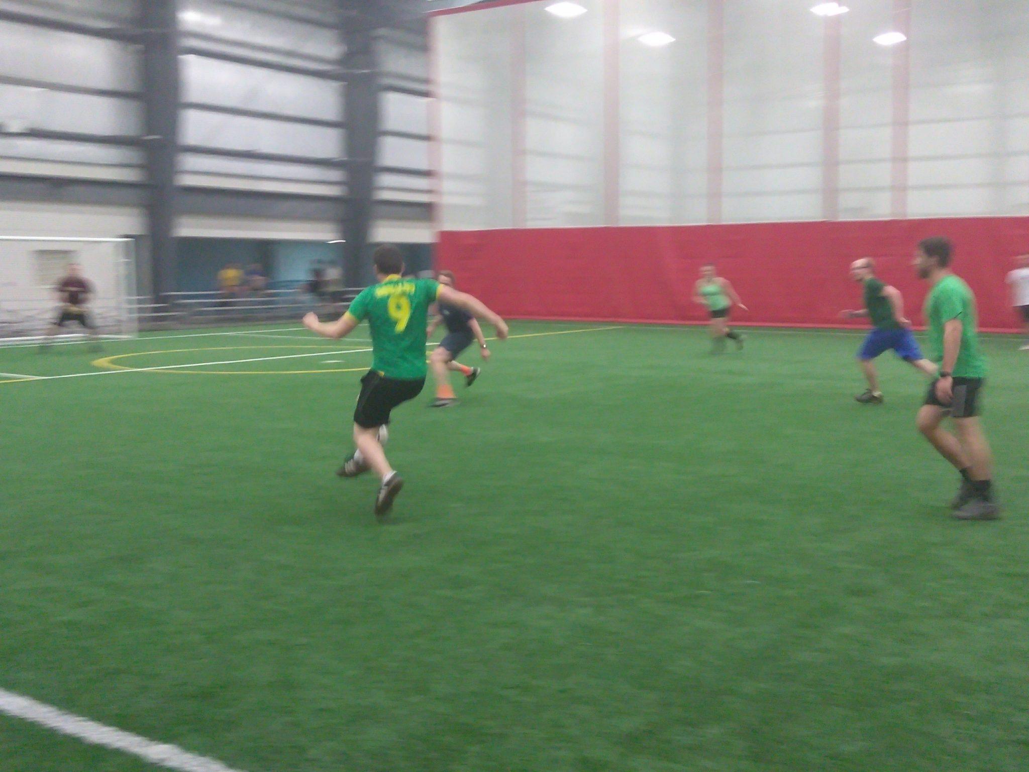 Evergreen vs. City Strikers